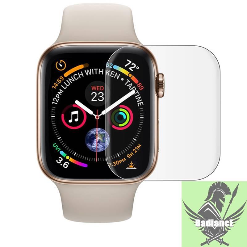 【Lightning delivery】ส่งแพ็คแอลกอฮอล์เช็ด/กระจกกันรอยหน้าจอสำหรับ apple watch band 44mm 40mm iwatch series 5 4 3 2 1 42 / 38mm ฟิล์มกระจกนิรภัย apple watch 5 3 4