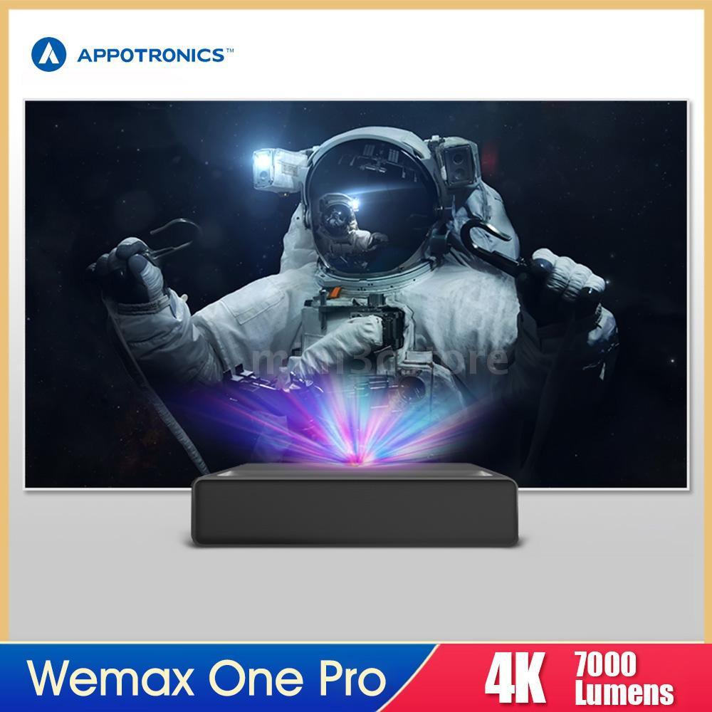 [ของแท้100%] Xiaomi Wemax One Pro FMWS02C 4K Laser Projector 7000 Lumens 150inch Image UST Ultra Short Throw HDR 3000:1 ALPD 3.0 DLP Cinema Theater Projector CN Version