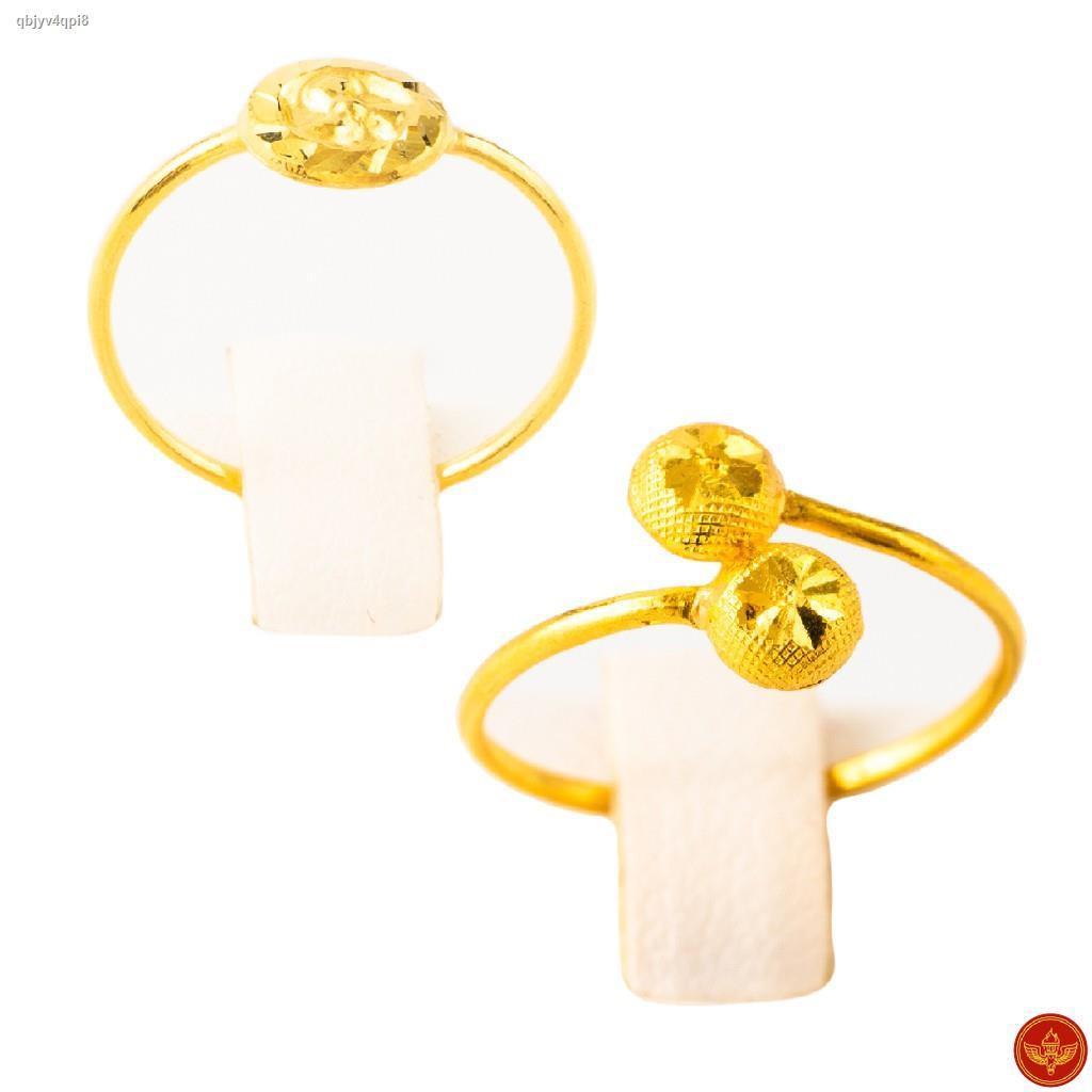 ราคาต่ำสุด❆☬[ทองคำแท้] LSW แหวนทองคำแท้ 0.6 กรัม ราคาพิเศษ มาพร้อมบัตรรับประกัน (FLASH SALE 3)
