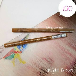 Review of Mille 3D Eyebrow Pencil Waterproof  2g.    สี Light Brown