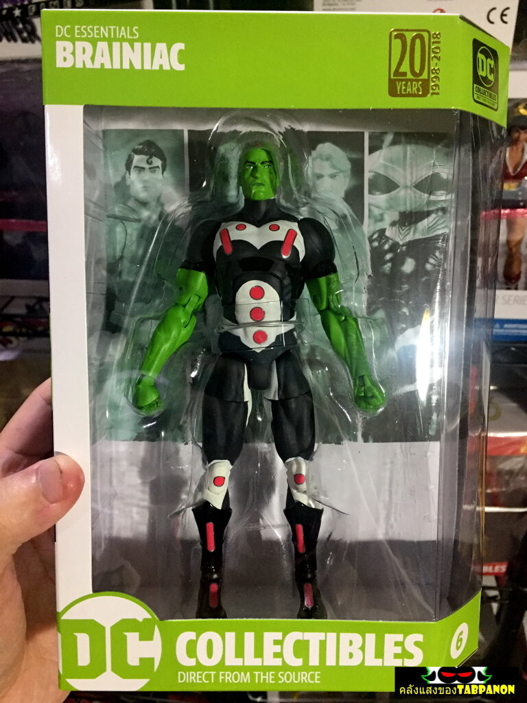 [18.09] DC Direct DC Essentials 06.Brainiac 7-Inch Action Figure