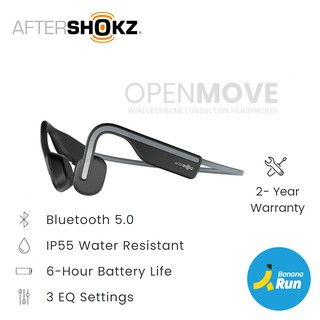 AfterShokz OpenMove หูฟังไร้สาย Bone conduction