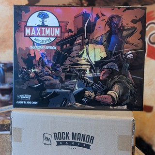 Maximum Apocalypse: Legendary Edition with Miniatures Kickstarter Boardgames
