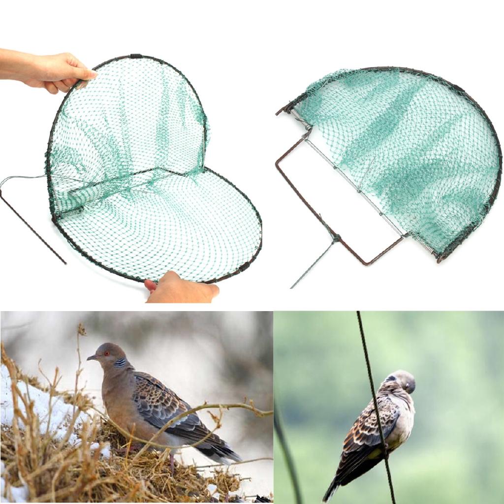 "7.87/"" Sparrow Starling Bird Net Mesh Humane Live Trap Hunting Heavy Duty 200mm"