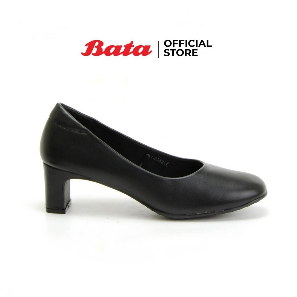 🔥💖🌟✗❁◘Bata รองเท้าผู้หญิงคัชชู LADIESHEELS PUMP NEO-TRAD สีดำ รหัส 6116352