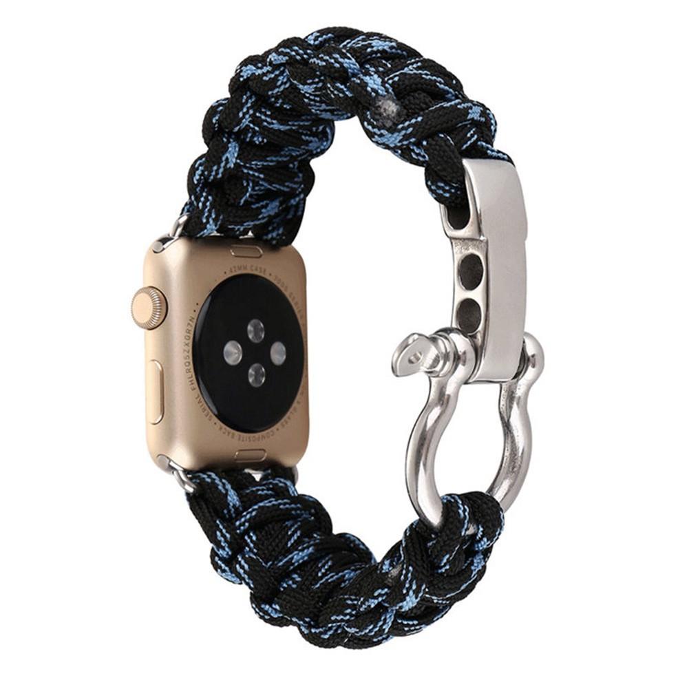 สายนาฬิกาแบบเชือกถัก สำหรับMI-Apple Watch 40mm 44mm