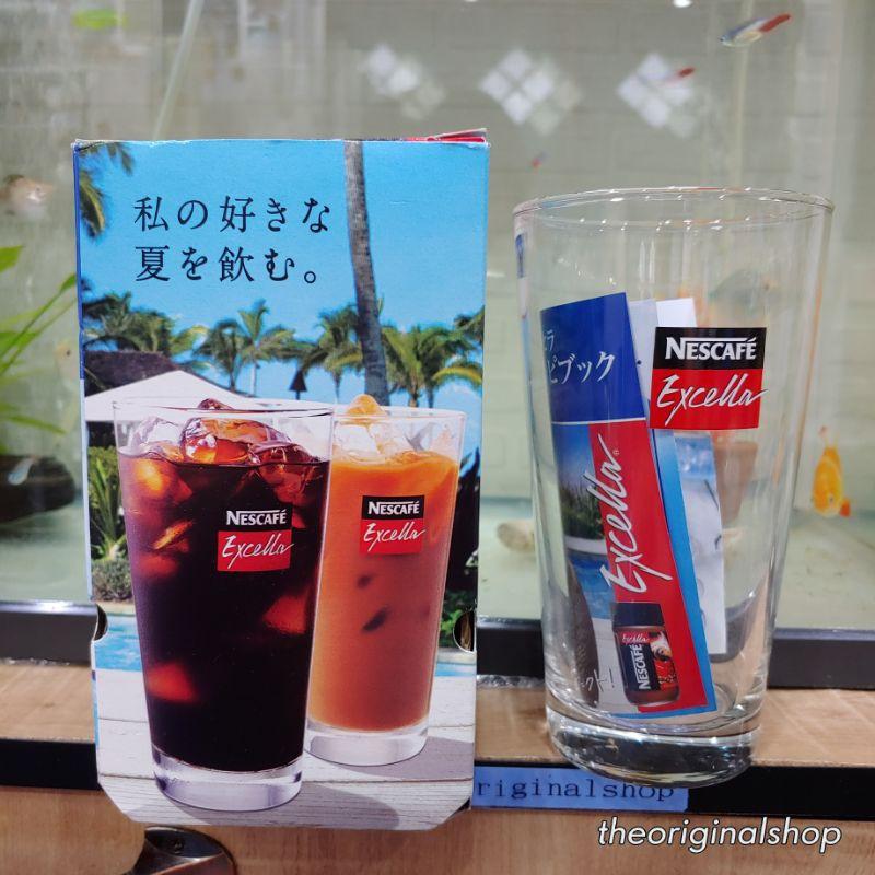 แก้วน้ำ แก้วกาแฟเย็น Nescafe Excella 510ml ใหม่