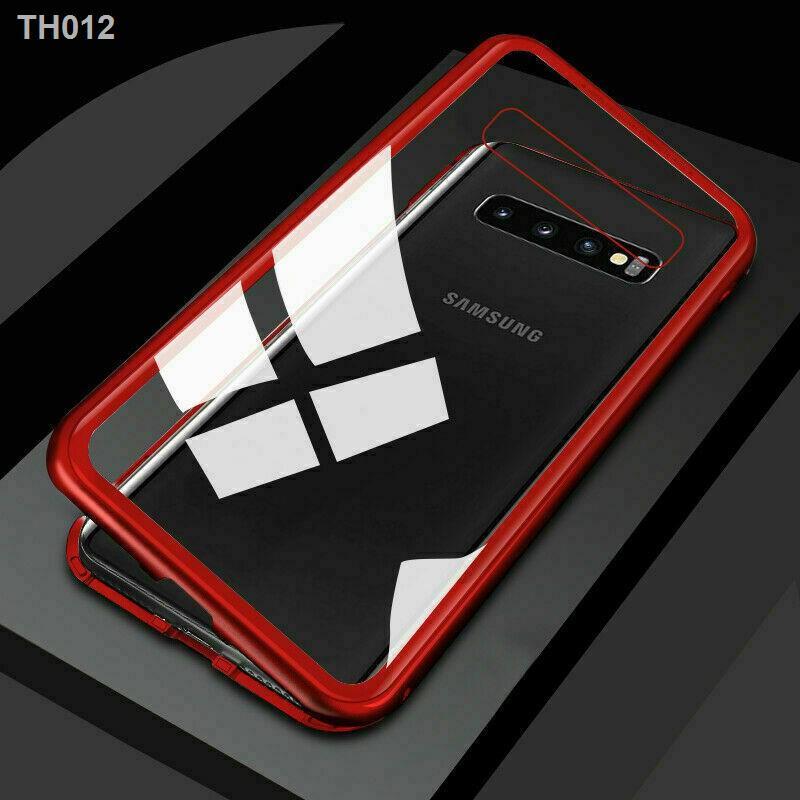 ✁Magnetic Metal Case เคส Samsung J4Plus/ J6Plus /A7 2018 /A9 /S7 Edge /S9Plus /C9Pro /Note8 /Note9 /M20
