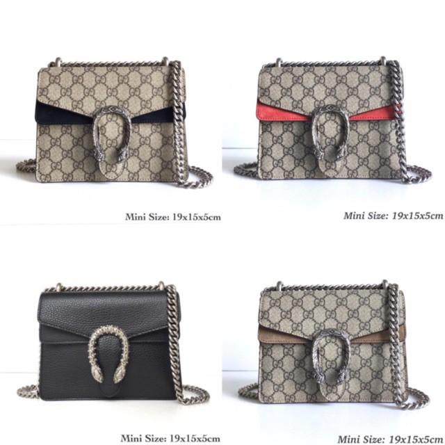 new】Gucci dionysus mini พร้อมส่ง ของแท้ 100%