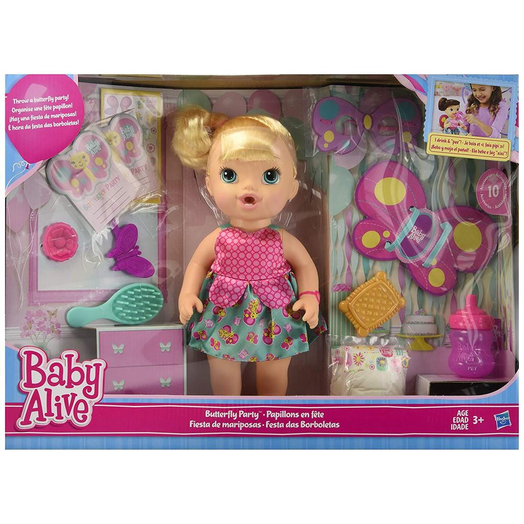 ToysRus ตุ๊กตาเด็กน้อย Butterfly party exclusive – Blonde (35923)