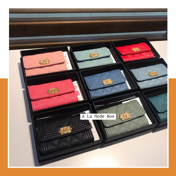 Chanel Boy Flap Wallet Original