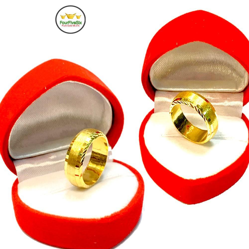 ราคาไม่แพงมาก✈FFS แหวนทอง 1 สลึง สายรุ้ง หนัก 3.8 กรัม ทองคำแท้ 96.5%
