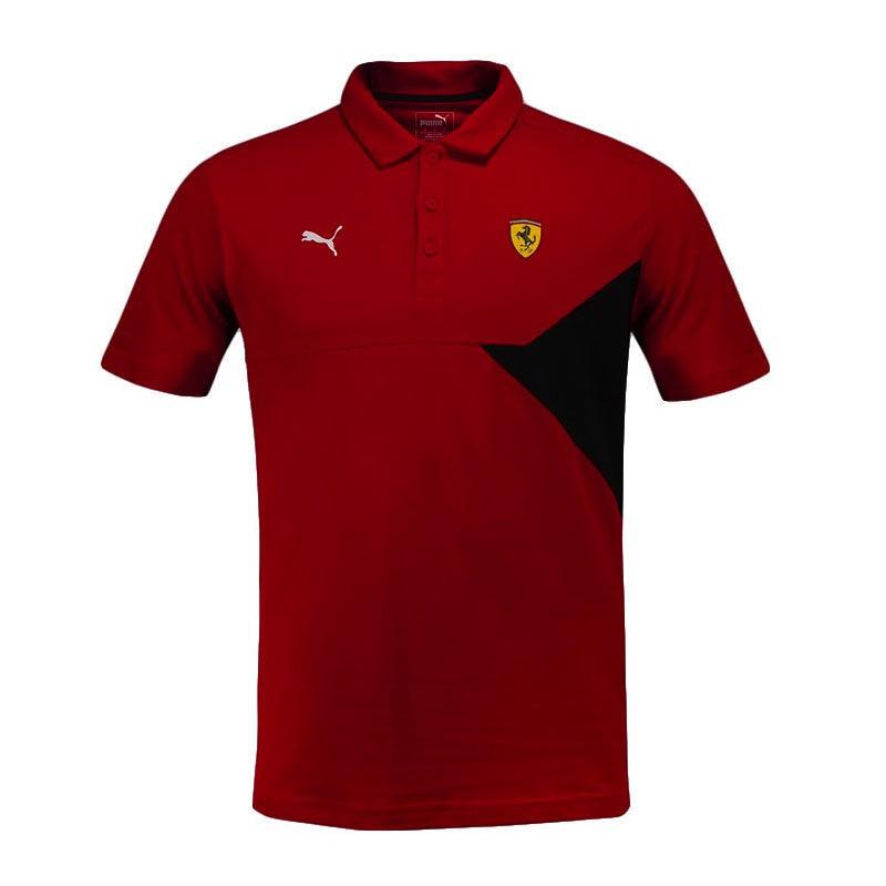 เสื้อโปโลพูม่า PUMA Ferrari SF Polo Rosso Corsa Red 57670801