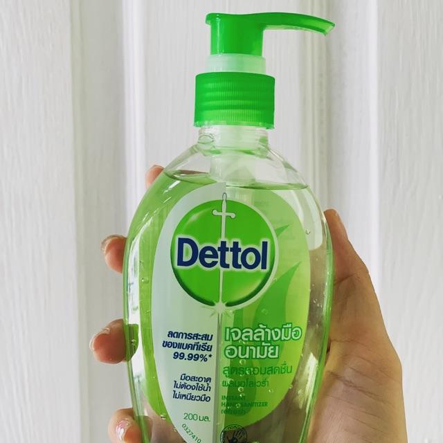 เจลล้างมืออนามัย เดทตอล (Dettol)