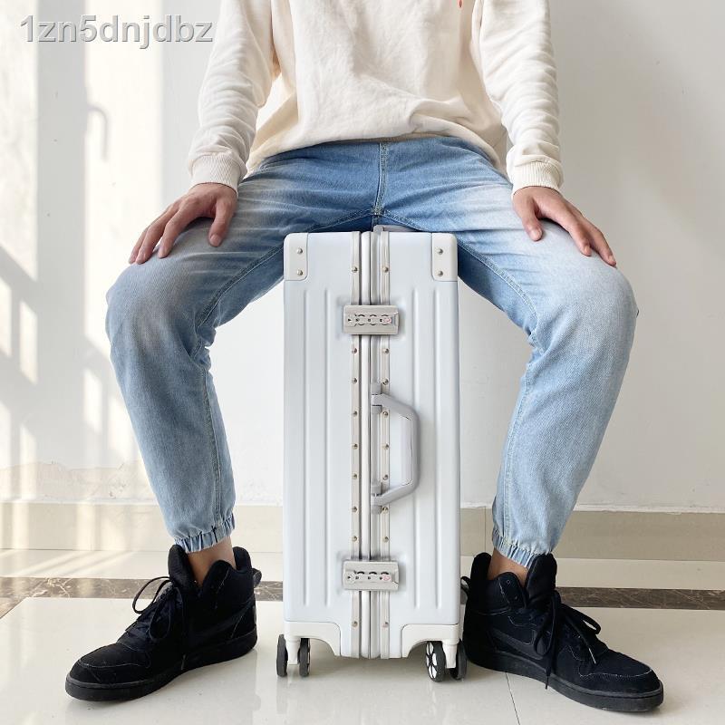 กระโปรงหลังรถ❃โครงอลูมิเนียมลามิดี้สามารถวางบน กระเป๋าล้อลาก 20 ใบ เคสกระเป๋าเดินทาง 24 ล้อ 26 สีขาว เล็กสด 29 นิ้ว เพศเ