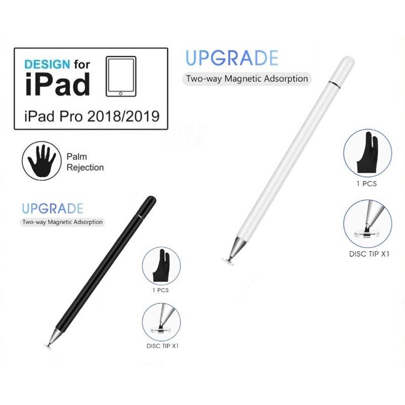 ipad 9.7 [ปากกาipad]ปากกาไอแพด วางมือแบบApplePencil stylus ipad gen7 2019applepencil10.2 9.7 2018 Air3Pro11 2020 12.9งาน