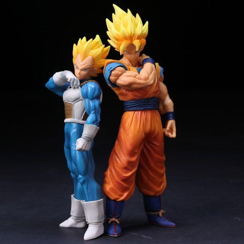 DJti Dragon Ball: Goku Figure(22cm),Vegeta Figure (18cm)