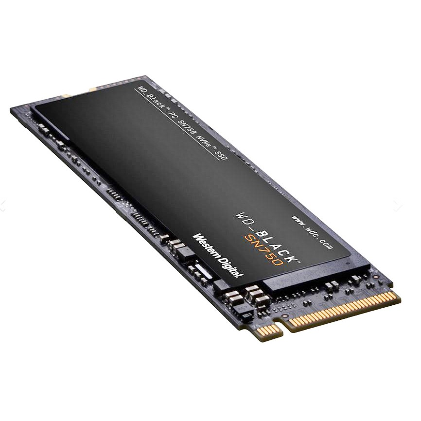 Image # 3 of Review 250GB SSD (เอสเอสดี) WD BLACK SN750 PCIe/NVMe M.2 2280 (WDS250G3X0C) - สินค้ารับประกัน 5 ปี