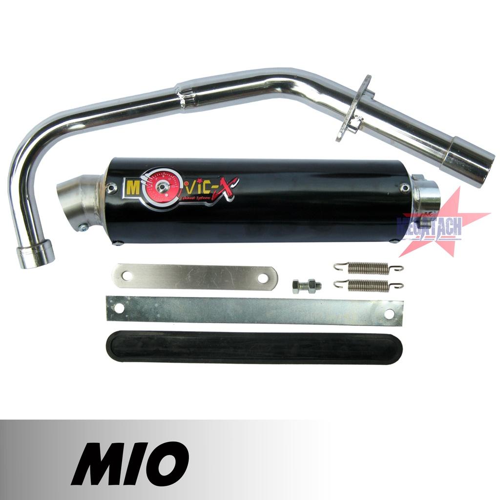 ท่อสูตร MIO ท่อสูตรมีโอ ท่อแต่ง มีโอ ท่อ โมวิค MOVIC-X ทรง ENDURANCE มี มอก. คอท่อชุบโครเมี่ยมอย่างดี+ปลาย+แค้มรัดท่อพร้