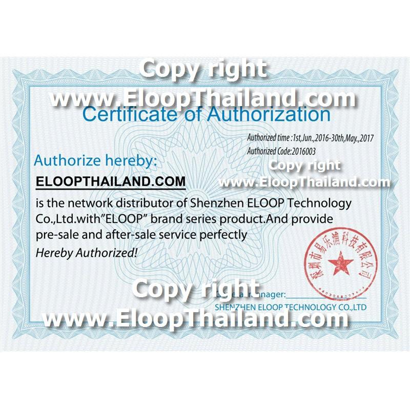 EloopE14ของแท้100%(โค้ด12%Coins67GGLQ2D)ขั้นตำ฿400(ไม่แท้ยินดีคืนเงิน)รับประกันศูนย์Eloop20000mahแบตเตอรี่สำรองคุณภาพสูง