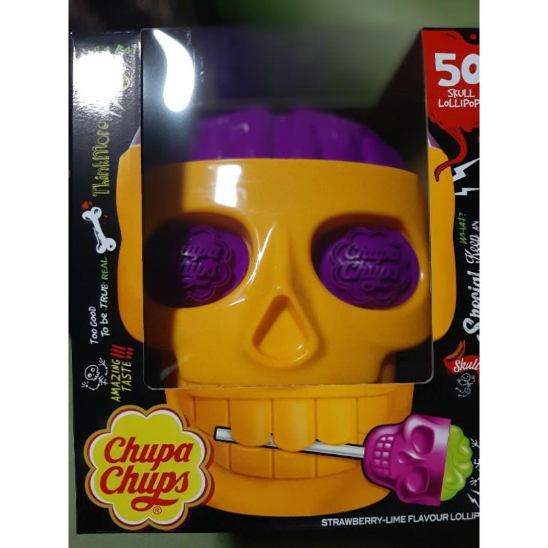 **ตัวนี้สีใหม่**Premium!! หัวกะโหลก Skull 🍭หัวกระโหลกSkull Lollipop Chupa Chups   สินค้ามีจำนวนจำกัด
