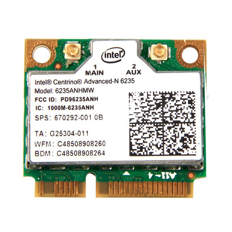 Intel Centrino Advanced-N 6235 6235ANHMW Wlan Bluetooth 4.0 Half MINI Card 80...