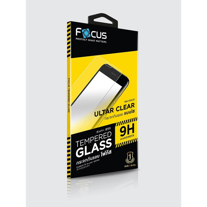 Apple iPhone 7 / 8 Focus Tempered Glass (Ultra Clear  UC) กระจกนิรภัย กระจกกันรอย แบบใส (ของแท้100%)