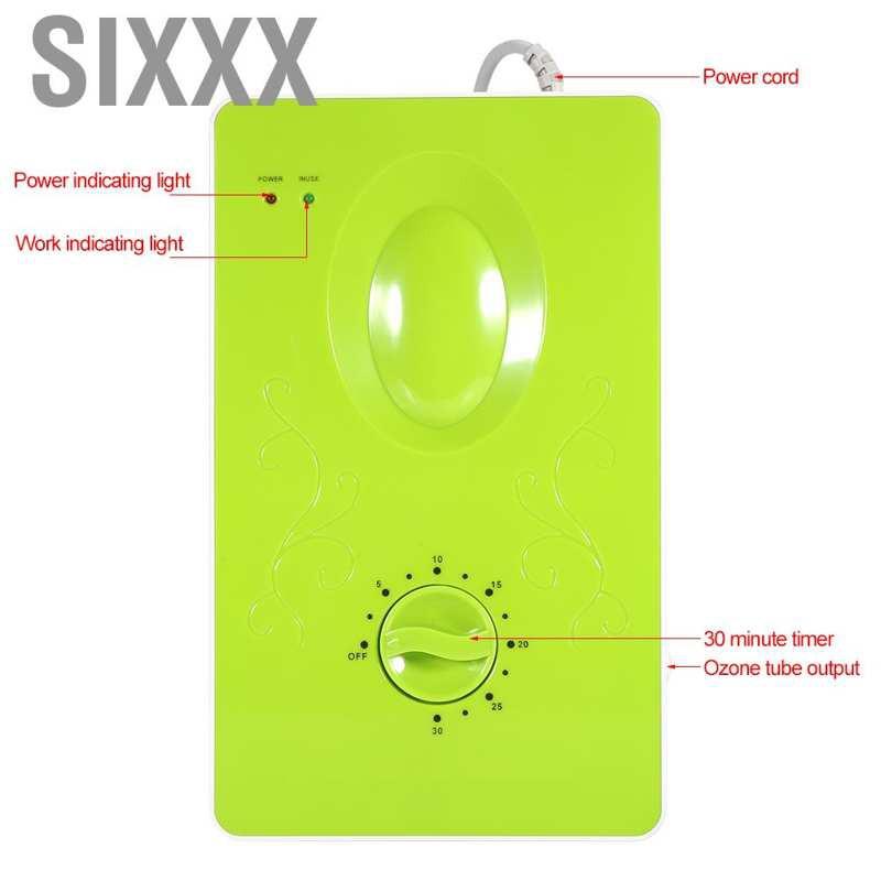Sixxx เครื่องผลิตโอโซน 400 mg / H เครื่องฟอกอากาศฆ่าเชื้อโอโซน