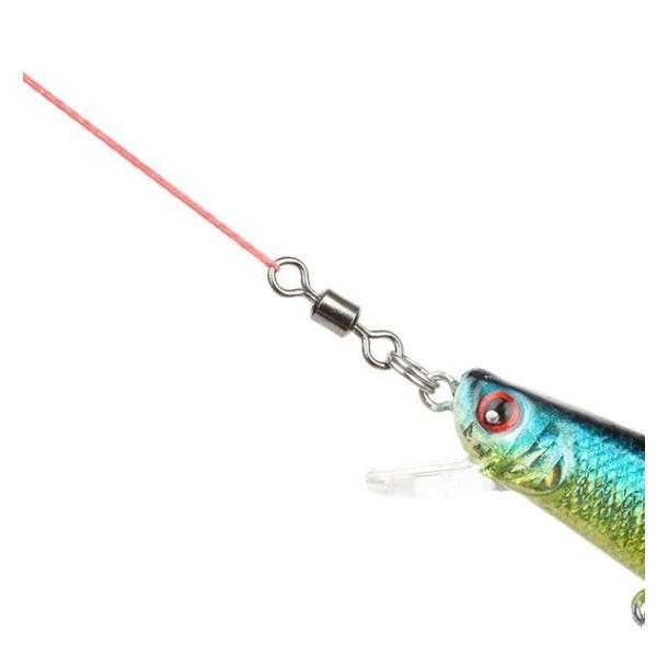 ลูกหมุน สำหรับตกปลา ขนาดเบอร์ #2 #4 #6 #8 #10 ซองละ 20ลูก