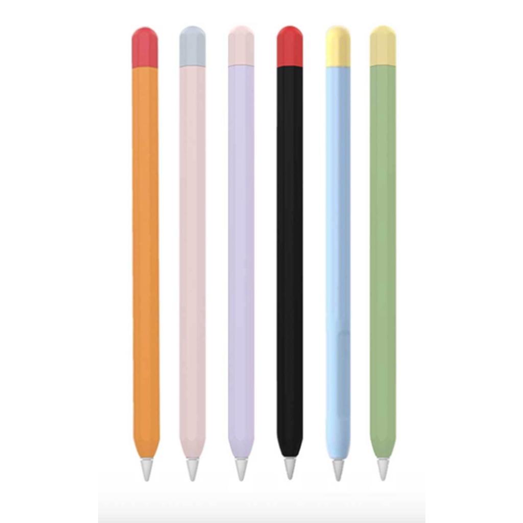 ปลอกสำหรับPencil 1&2 Case เคส ปากกา ซิลิโคน ปลอกปากกาซิลิโคน เคสปากกาสำหรับApplePencil siliconesleeveราคาถูก พรีเออเดอร์