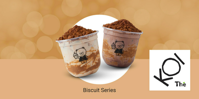KOI Thé Biscuit Series [Scan & Pay] ส่วนลด ฿25