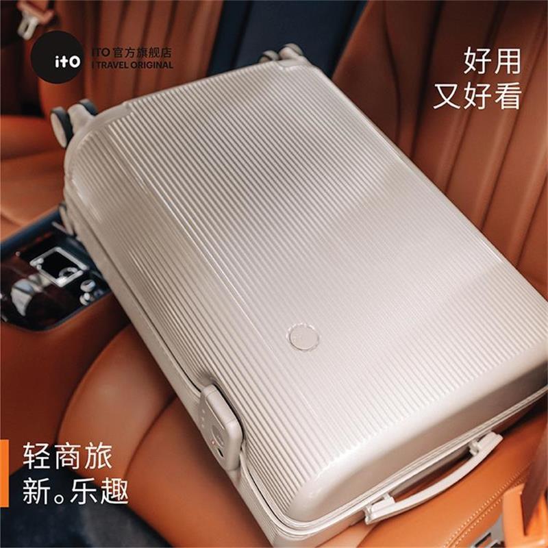 ✽❋กระเป๋าเดินทาง Ito หญิงขนาดเล็ก 20 นิ้วกระเป๋าเดินทางแสงสุทธิสีแดง Ins น้ำ 24 กรณีรถเข็นกระเป๋าเดินทางขึ้นเครื่อง