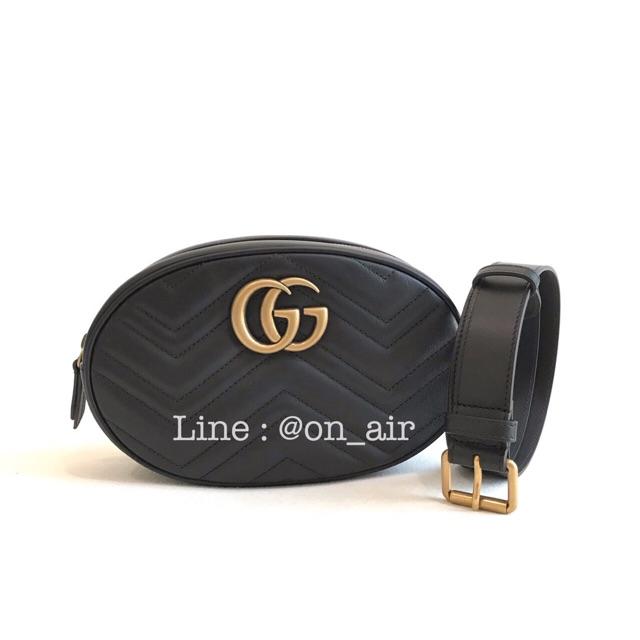 New gucci marmont belt bag เป๋าไซส์ใหญ่