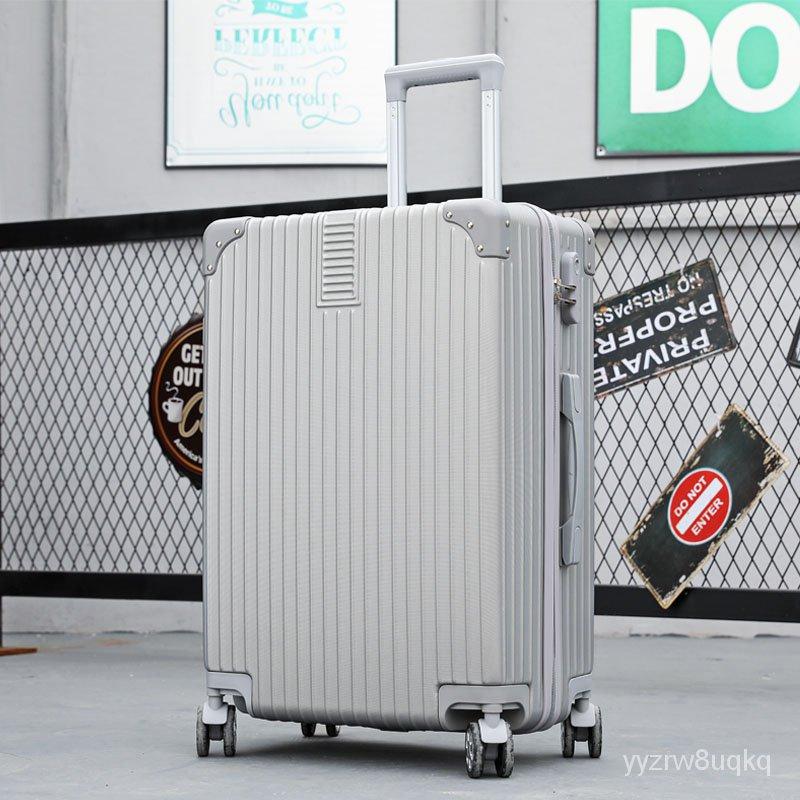 กระเป๋าเดินทาง2021ใหม่รถเข็นกระเป๋าผู้ชายทนทานหนารหัสผ่านกล่อง24กระเป๋าเดินทางกระเป๋าเดินทาง26ล้อน้ำ YI8f