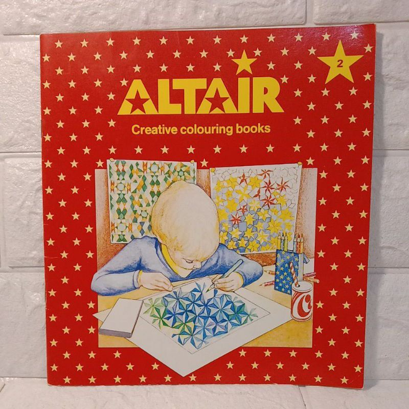 Altair creative colouring books