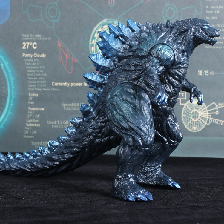 16cm Godzilla BANDAI  Movie Version Garage Kit Large  Dinosaur Monster Movable  PVC Action Figure Collectible Model Toys