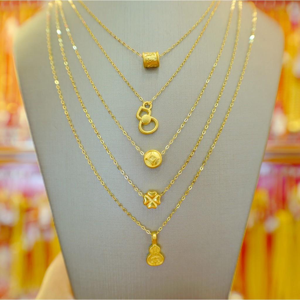 New fashion▧●สร้อยคอเงินชุบทอง+จี้ปี่เซียะทองคำ 99.99  น้ำหนัก 0.1 กรัม และชาร์มอื่นๆ ซื้อยกเซตคุ้มกว่าเยอะ แบบราคาเหมา
