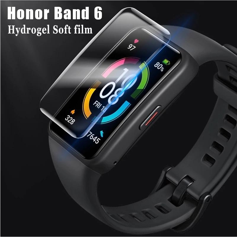 ฟิล์มกันรอยหน้าจอใสสําหรับ Huawei Honor Band 6