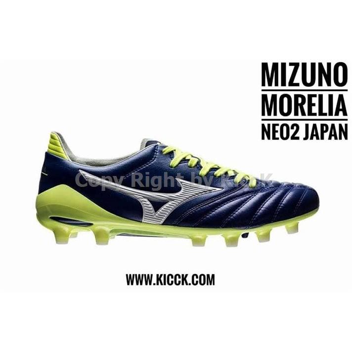 Mizuno Morelia Neo II (Navi Blue/White/Yell)