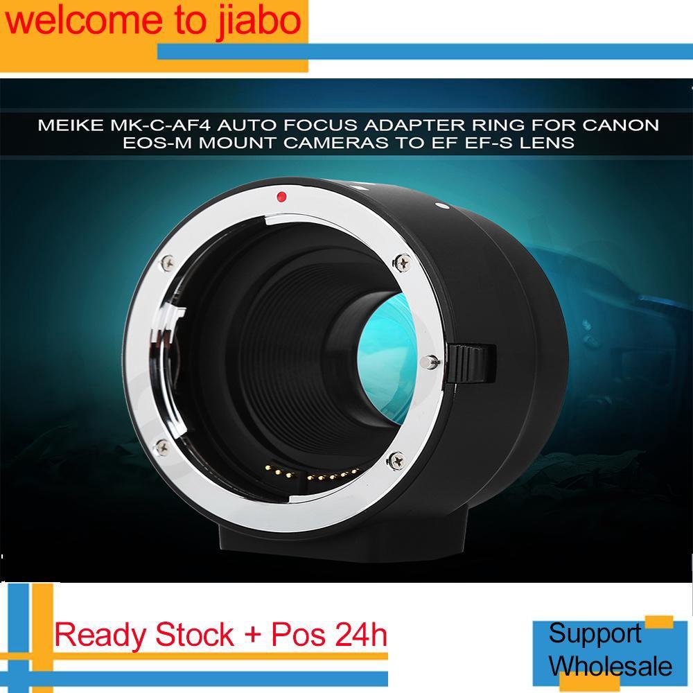 อะแดปเตอร์สำหรับ Canon EOS-M Mount Cameras to EF EF-S Lens Meike MK-C-AF 4  Auto Focus