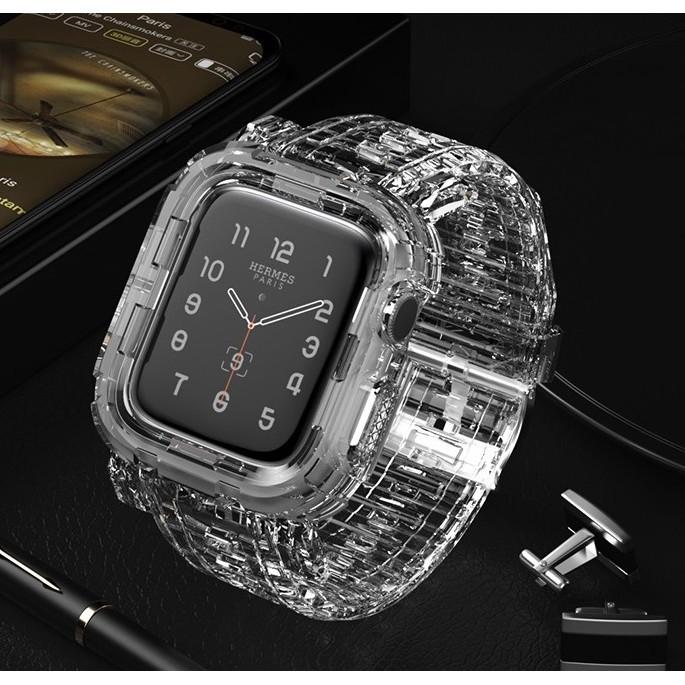 สาย applewatch สายนาฬิกา applewatch เคส apple watch + สายนาฬิกา apple watch soft Silicone Sports สาย applewatch 6 5 4 3