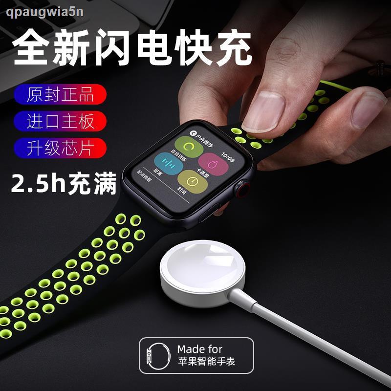 สินค้าดิจิทัล✒✧เครื่องชาร์จ Apple Watch สากล iwatch6/se/5/4/3/2/1 รุ่น applewatch series4 ประเภทดูดแม่เหล็กไร้สายชาร์จเร