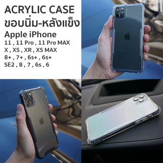 Review Acrylic Case For iPhone 11 Pro MAX / 11 Pro / 11 เคสใสกันกระแทก Acrylic
