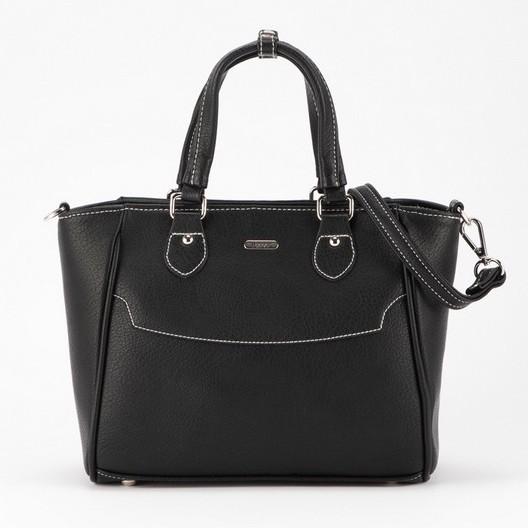 Jacob International กระเป๋าถือ V4361 (ดำ,น้ำเงิน)