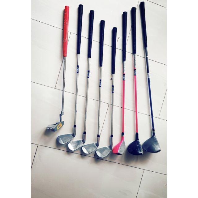 US kids golf club ไม้กอล์ฟ  US kids 45 พร้อม ถุง กอล์ฟ