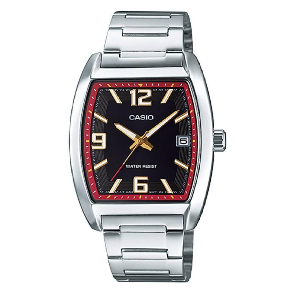 จัดส่งฟรีนาฬิกา รุ่น Casio Standard นาฬิกาข้อมือสุภาพบุรุษ สายสแตนเลส รุ่น MTP-E107D-1ADF - สีเงิน จากร้าน MIN WATCH
