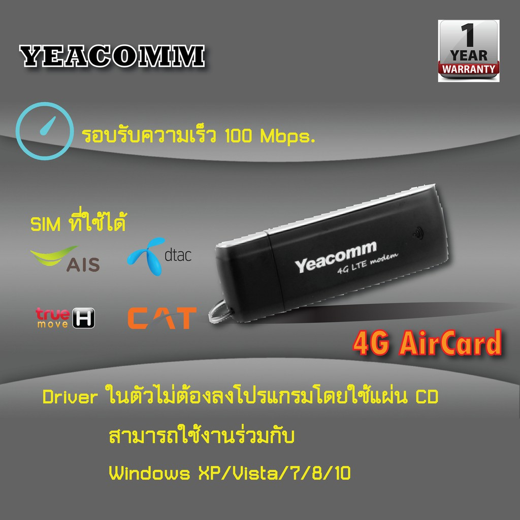 True 4g aircard supersurf