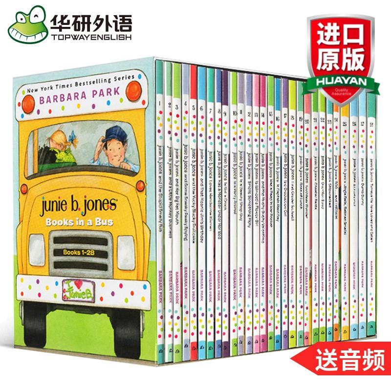 หนังสือ Junie B . Jones Jeans Series 1-28 Books ภาษาอังกฤษ