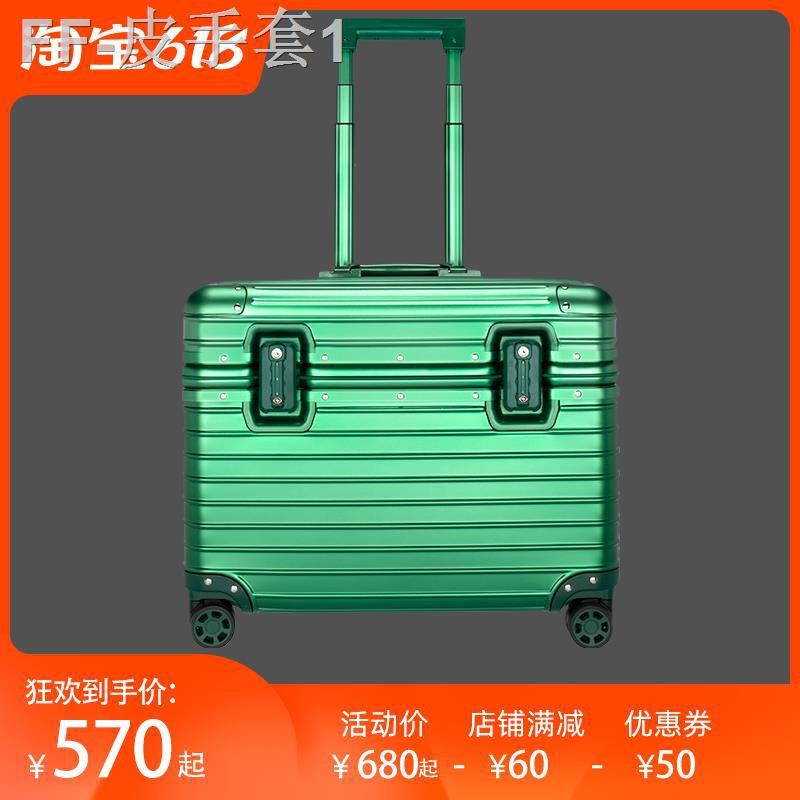 ☏กล่องถ่ายรูปโลหะผสมอลูมิเนียม-แมกนีเซียมทั้งหมด กระเป๋าเดินทางใบเล็ก กระเป๋าเดินทาง กระเป๋าสัมภาระ กระเป๋าล้อลากอเนกประ