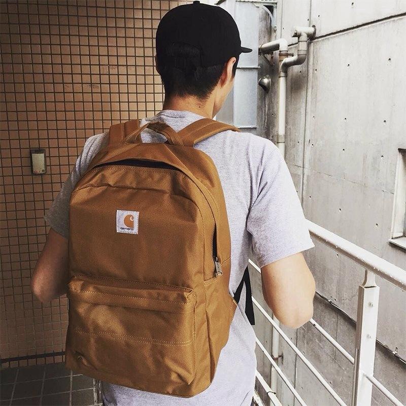 carhartt  1: 1 กระเป๋าเดินทางสำหรับแล็ปท็อปกระเป๋าเป้สะพายหลังคุณภาพสูง